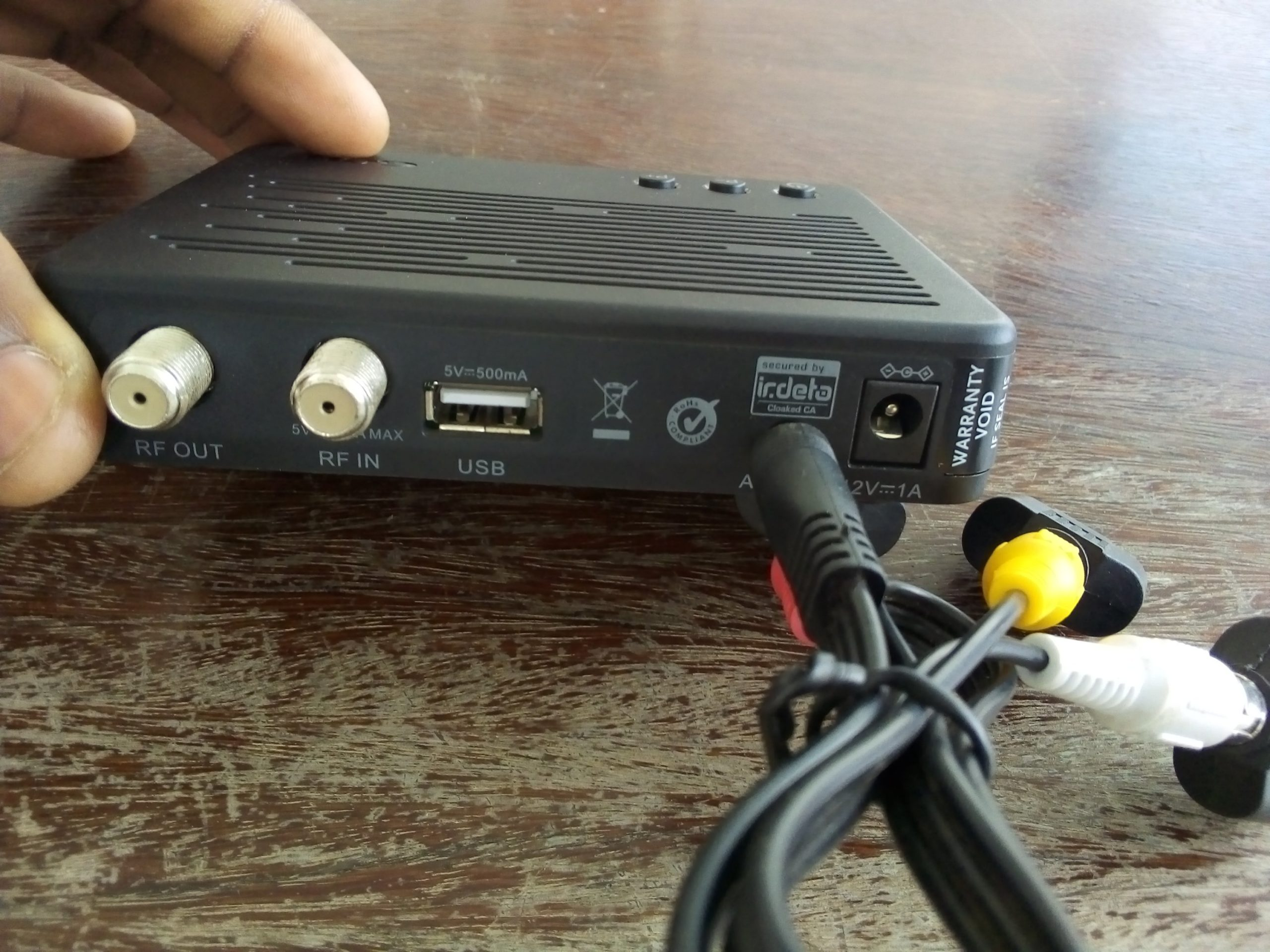 AV to Gotv decoder connection