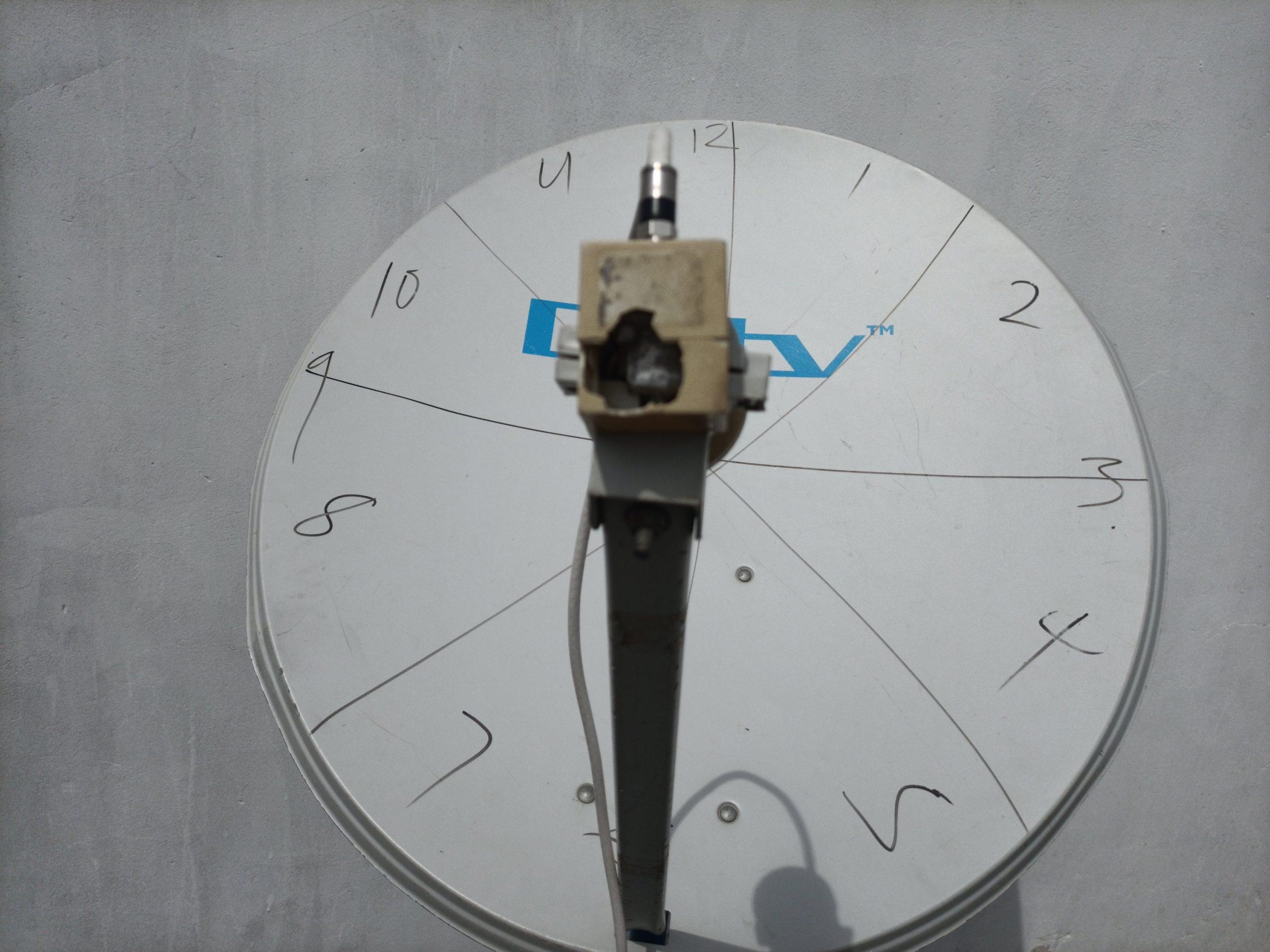LNB skew 12 o'clock