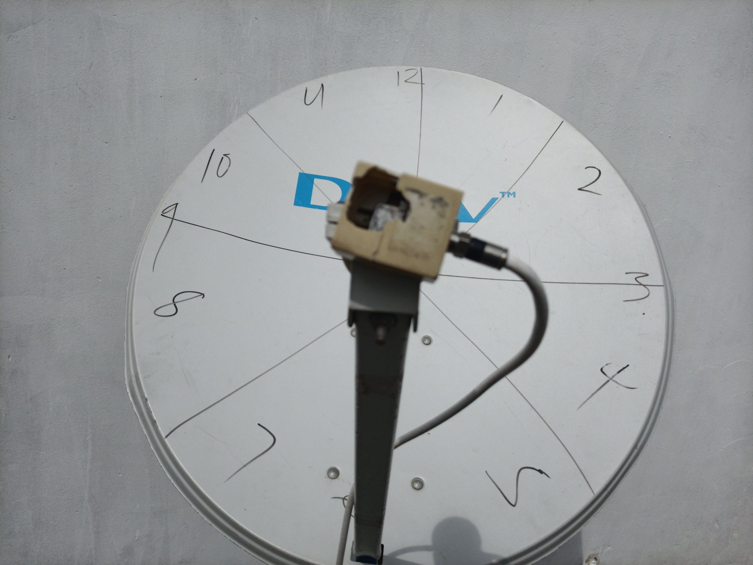 LNB skew 4 o'clock