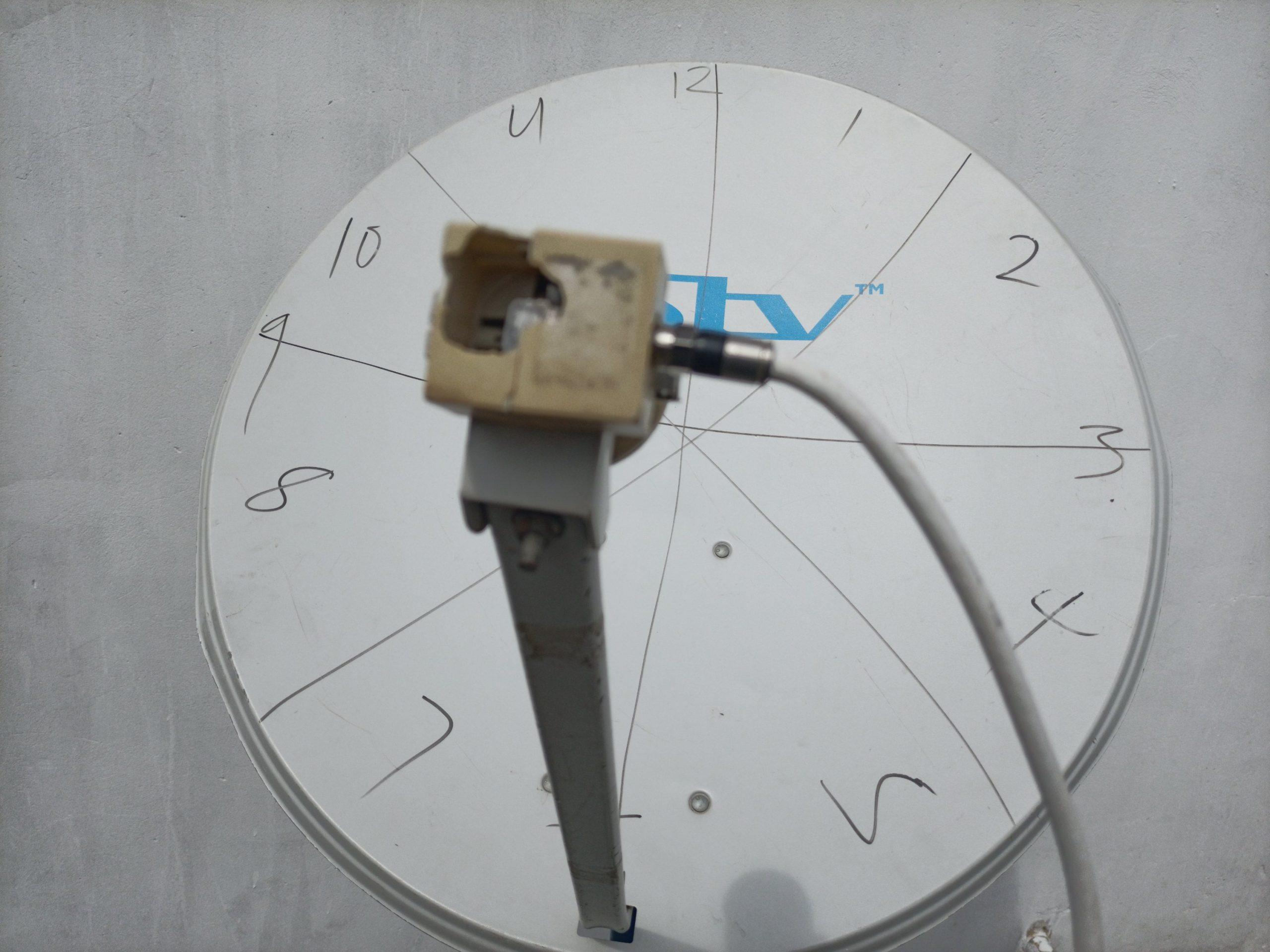 LNB skew 3 o'clock